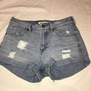 High waisted Jean Shorts from Pacsun